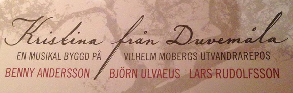 Musical Kristina från Duvemåla