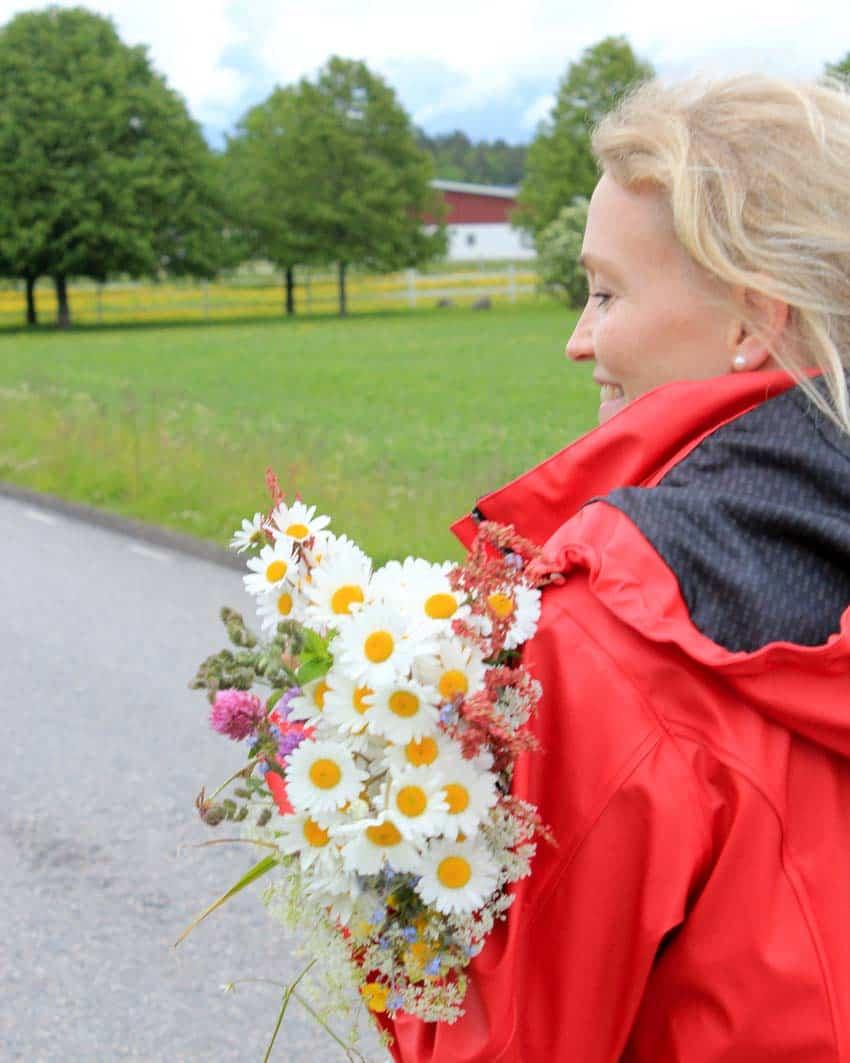 Midzomer bloemen