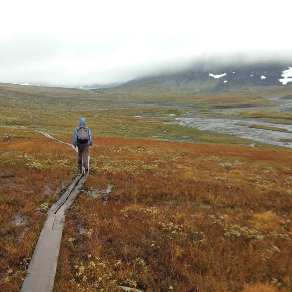 Wandelvakantie in Zweden