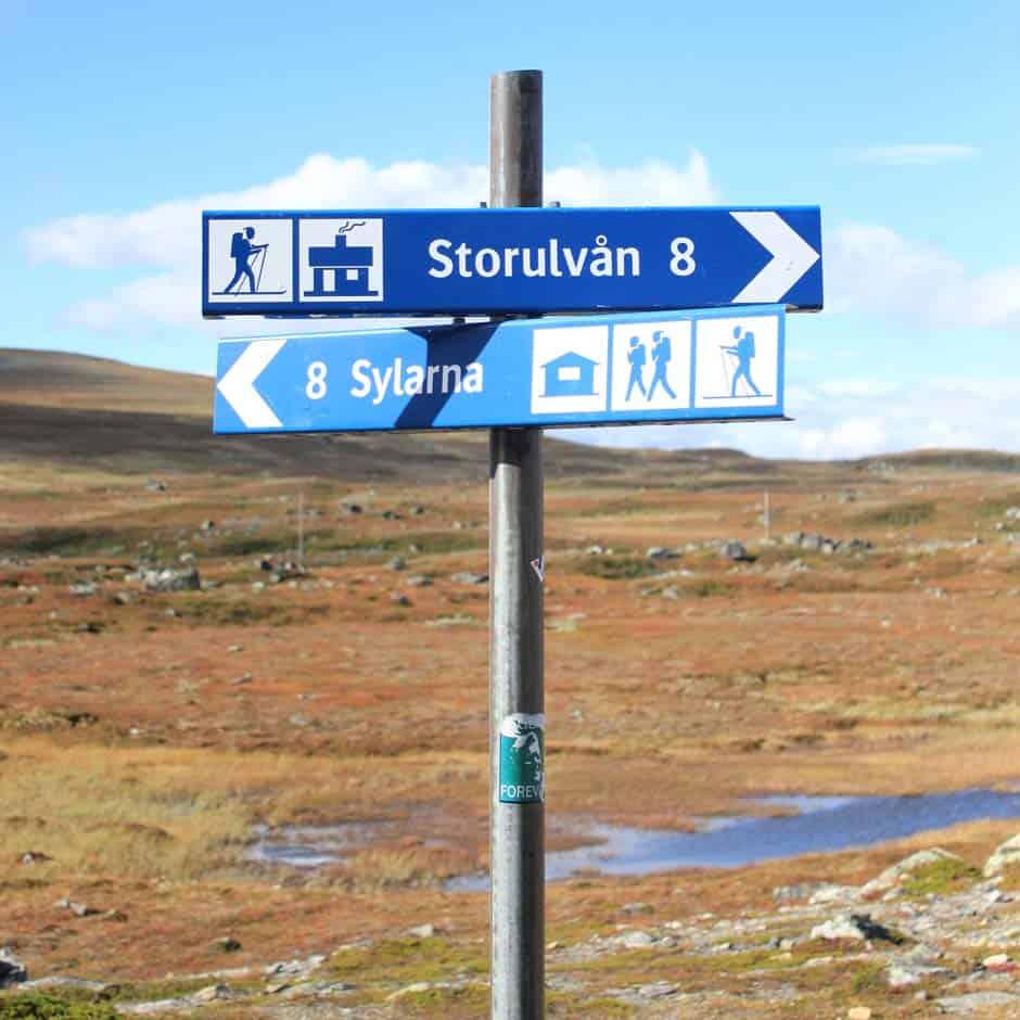 wandelvakantie Zweden
