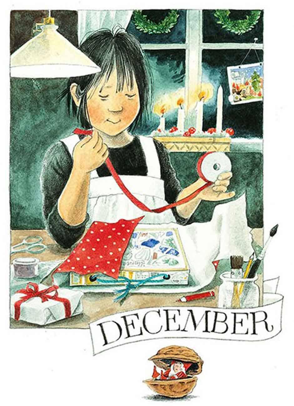 Maandkaart december Linnea