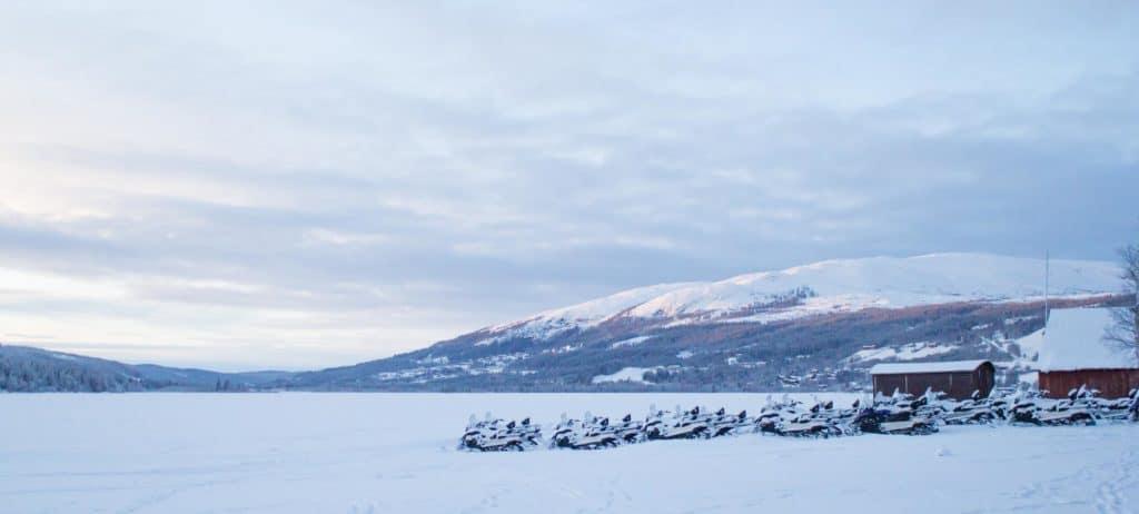Sneeuwscooter Zweden