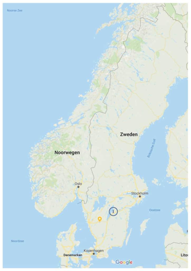 Midzomer vier in Zweden