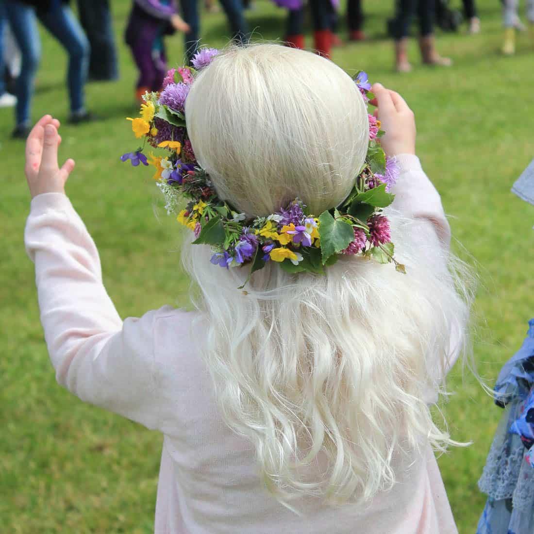 Midzomer vieren in Zweden