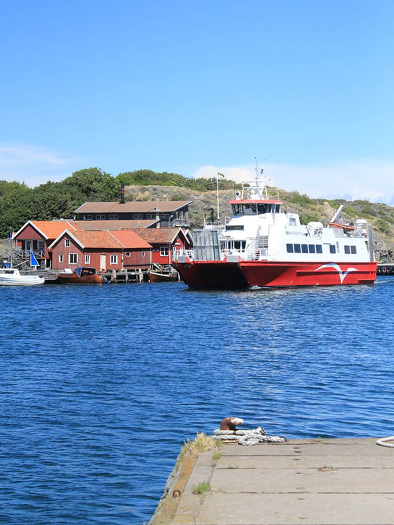 Kosteröarna Zweden Boot
