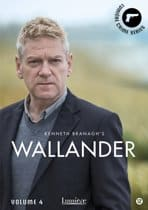 Kurt Wallander verfilming boeken dvdbox 4