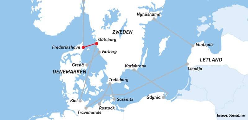 Frederikshavn-Göteborg-Ferry-Zweden-Stena-Line